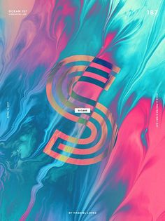Magdiel Lopez / colorful typography