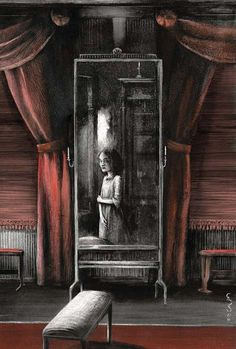 JANE EYRE by Charlotte Brontë, Illustrated by Santiago Caruso. WOW x1000