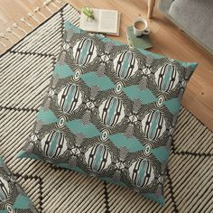 Animal Print Zebra on Turquoise Background Cushion Pillow Home Decor Turquoise Background, Cushion Pillow, Cushions, Throw Pillows, Animal, Home Decor, Toss Pillows, Toss Pillows, Decoration Home