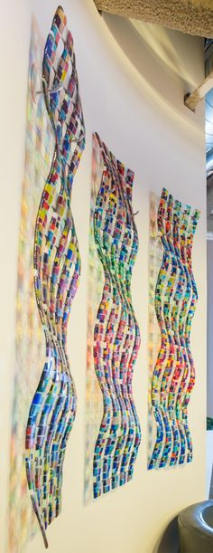 retro mesh waves in three - Law firm in Toronto   by Renato Foti