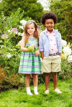 Ralph Lauren Kids: Dressed-Up looks for the spring season