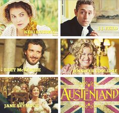 Austenland...So Hilarious! Just saw this last night and I haven't laughed so much at a comedy in ages. It was so quirky and awesome. You don't have to be a janeite to enjoy this show.