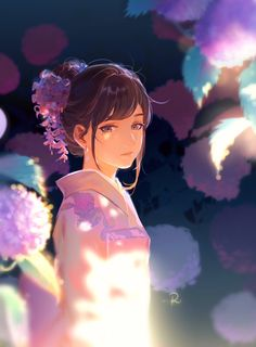 Image in ( ^∇^) Art & Anime ヾ(´▽`;)ゝ collection by Mary Kozakura Anime Art Beautiful, Animation Art, Image, Art Girl, Art, Pictures, Anime Characters, Anime Movies, Anime Drawings