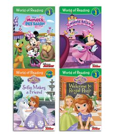 Love this Sofia the First & Minnie Mouse Bowtique Paperback Set by Sofia the First on #zulily! #zulilyfinds