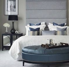 Contemporary Bedroom Ideas to Steal this Fall/Winter, with simple but glamorous details that will make all the difference.  http://bocadolobo.com/blog