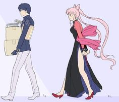 Sailor Moon Black Lady Saphir