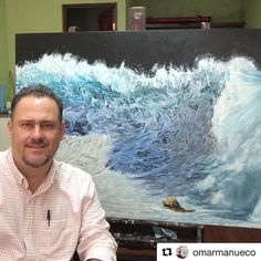 Cicatela Rescue by @omarmanueco #painter #realism #mexico #mexicanartist #art