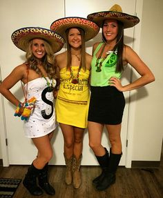Tequila Salt & Lime Halloween costume