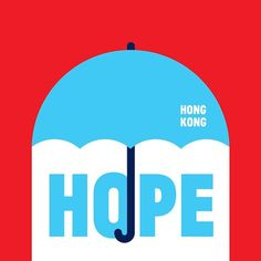 Artists Create Illustrations Of Umbrellas To Support Hong Kong's Protests - DesignTAXI.com