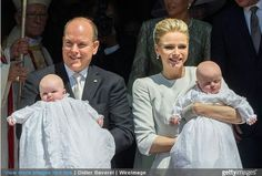 Christening Of Monaco's Royal Twins