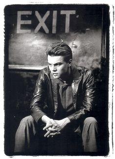 Leonardo DiCaprio / Leonardo di Caprio - fotógrafo de retratos Greg Gorman / Greg Gorman