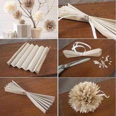 How To Make Beautiful Paper Flower Ball Step By Step DIY Tutoria.04 #Various #Trusper #Tip