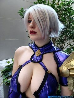 Belle Chere as Ivy Valentine (cosplay)...BelleChere as anybody is amazing! Proud to be her friend!