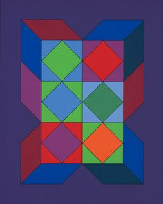 Victor Vasarely Plakater hos AllPosters.no