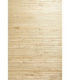 A rustic grasscloth wallpaper, providing an eco-chic knotted weave in an organic hue. Unpasted Grasscloth MaterialNo design repeat and a random matchComes on a 36-in x 24-ft rollWipe with a damp cloth