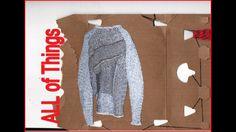 Knitting/ collage