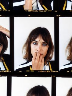 My Name Is Alexa Chung in Vogue Girl Japan with Alexa Chung - - Fashion Editorial Pretty People, Beautiful People, Alexa Chung Style, Alexa Chung Bob, Celebrity Portraits, Vogue, Camila, Mode Style, Girl Crushes