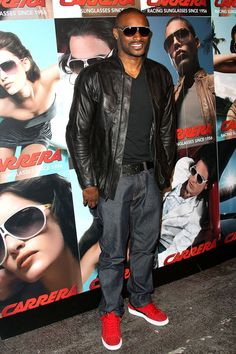 Tyson Beckford...casual and clean