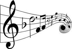 Musical Notes Coloring Pages - Coloring Home Art Clipart, Free Clipart Images, Drawing Clipart, Musical Notes Clip Art, Music Notes, Music Symbols, Pop Rock, Piano Lessons, Vinyl Lettering