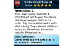 We at Carylls Country House have 4 computers and over the years have always used Crawley...