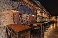 #Hamburgueseria The Black Turtle®, Barrio Ruzafa, #Valencia. #Diseño #Industrial. www.theblackturtle.es