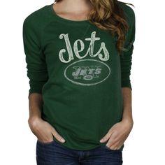 Junk Food New York Jets Touchdown Tri-Blend T-Shirt - Steel
