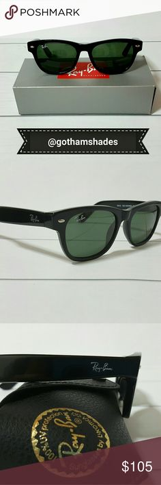 ✔Men's Style Host Pick Ray-Ban 2132 Wayfarer 52 ?? Ray-Ban 2132 New Wayfarer Classic 52mm  Green Classic G-15 lens NWT  🚫NO TRADES! 🚫NOT POLARIZED  🚫Same/next day shipping  Brand New W/ Original Packaging  Comes with Ray-ban Black case, cleaning cloth & booklets   100% AUTHENTIC!   All my Ray-Ban Sunglasses come from a luxottica Authorized Distributor. Here in NYC Soho District Ray-Ban Accessories Sunglasses