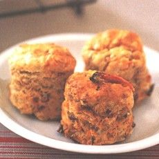 Feta, Olive and Sun-dried Tomato Scones