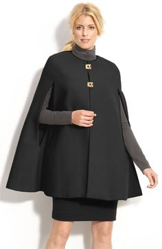 Calvin Klein Cape available at #Nordstrom  $160 then on sale for $64.97, but currently sold out.