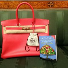 Happy Friday from Baltimore! Featuring the Special Edition Rose Jaipur Birkin in 35cm.