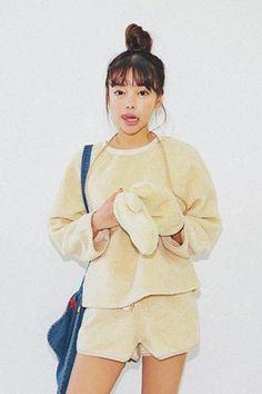 Fluffy Wool Sweatshirt