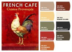 Browse 17 Best Ideas About French Country Colors On, Popular French Neoclassical Color Schemes French Country Colors, French Country Kitchens, French Country Bedrooms, Kitchen Country, French Kitchen, French Farmhouse, Vintage Kitchen, Kitchen Color Themes, Kitchen Paint Colors