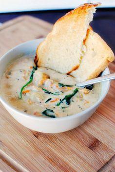 Olive Garden's chicken gnocchi soup |