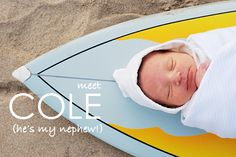 newborn surfboard photo - Google Search