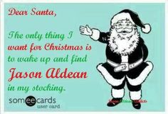 Jason aldean Christmas.. I made this for our fb page