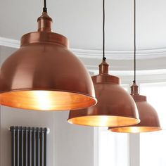 Image result for copper light shade