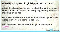 I've decided to believe in stories like this. The world is a big place. Amazing things happen.