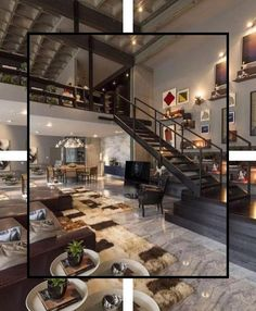 32 Stunning Loft Apartment Decorating Ideas You Should Try - In modern urban living, lofts and studios present an attractive alternative to traditional room-divided apartments. The openness of these layouts offe. Loft Interior Design, Loft Design, House Design, Eclectic Design, Design Design, Loft Apartment Decorating, Loft Stil, Interior Staircase, Loft Interiors