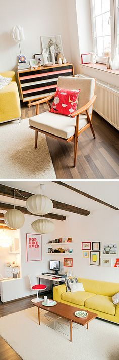 Mid Century Modern - See my Scandi Style board for more inspiration!