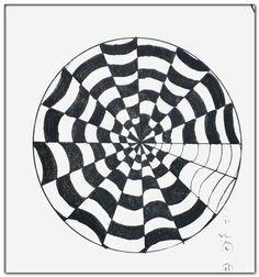 3d Art Drawing, Art Drawings Sketches Simple, Pencil Art Drawings, Illusion Drawings, Illusion Art, Optical Illusions Drawings, Easy Doodle Art, Doodle Art Designs, Mandala Art Lesson