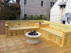 Deck Bench Seat | Yelp