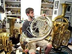 Contra Bass French Horn for the WIN!!!!