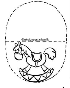 Diy And Crafts, Crafts For Kids, Arts And Crafts, Applique Patterns, Teaching Tools, Farm Animals, Coloring Pages, Origami, Decoupage