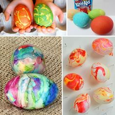 Easter Eggs are fun to both decorate and decorate with!