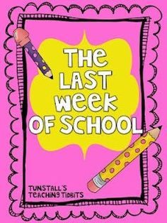 "Free worksheets! Survival pack for the last week of school. Activities, worksheets, and games to keep students engaged on the last days of school before summer. Perfect for kindergarten, first grade, and second grade. To learn more about ""The Last Week of School"", visit www.tunstallsteachingtidbits.com"