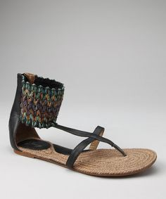 Black Mojo Gladiator Sandal