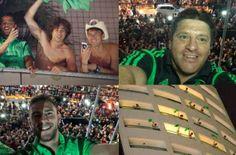 Me enteré que un grupo de aficionados (como mil, o sea un chingo) le llevó serenata a la Selección Mexicana de Futbol. Y que los jugadores se asomaron al balcón para dar las gracias.