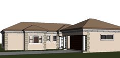 A four bedroom house plans drawing with garages for sale. Browse one storey 4 bedrooms house plans designs and Tuscan house plan designs in South Africa. Cheap House Plans, House Plans For Sale, House Plans With Photos, Garage House Plans, Bungalow House Plans, Four Bedroom House Plans, Tuscan House Plans, 4 Bedroom House Designs, Double Storey House Plans
