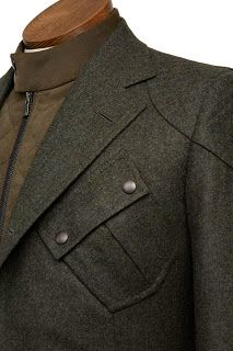 DAVIDE TAUB: Gieves & Hawkes Bespoke Car Driver's Jacket Commissioned By…
