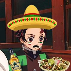 Demon Slayer, Memes, Anime Manga, Cute, Tacos, Wallpapers, Mexican Style, Anime Films, Anime Characters